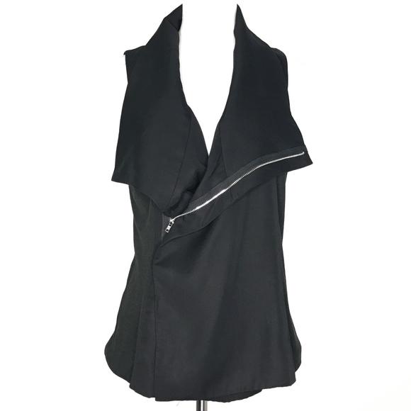 Pixley Jackets & Blazers - NWT Pixley Malynn Moto Vest Black A160611